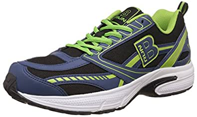 United Colors of Benetton Men's Brun 904 - Blue and Black Running Shoes - 10 UK/India (44 EU)