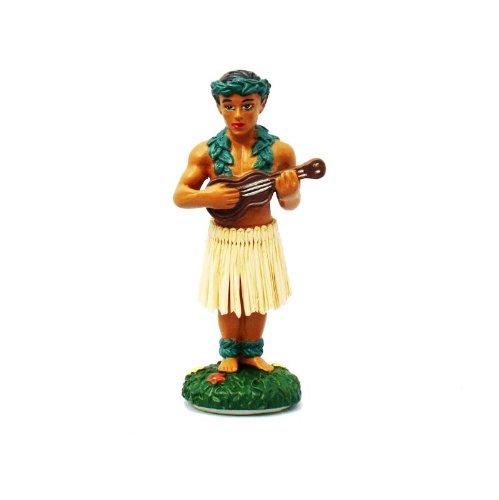 Preisvergleich Produktbild Hawaii miniature Dashboard Hula Doll - Hula Boy mit Ukulele