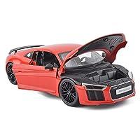 Descrizione del prodottoNome prodotto: modello di autoCategoria: Audi R8colore rossoDimensioni: 25x11,3x7,2 cmRapporto: 1:18Materiale: lega di zinco, plastica, gommaEtà applicabile: 4 anni o piùPrestazioni del prodotto: può aprire la portaUso del pro...