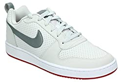 Nike Men's Court Borough Low Gymnastics Shoes, Grey (Vapste Gr E Y M T L C Cool Gr E Y G Y M R 004), 7.5 Uk