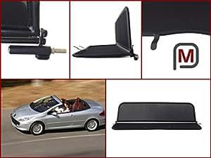 windschott peugeot 307 cc 307cc cabrio mit. Black Bedroom Furniture Sets. Home Design Ideas