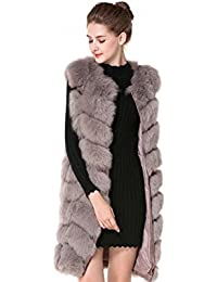 df0d6ab232c32d Luxury Fox Vest Pelzweste 100% Echtfell Fuchs Pelz 3 Farben Gr. 34-46