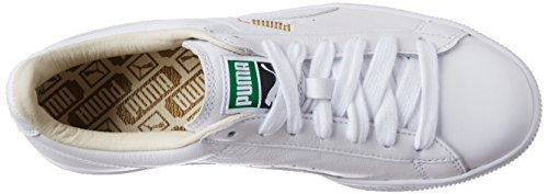 Puma Classic LFS, Baskets Basses Mixte Adulte Blanc (White/White 17)