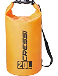 Cressi XUA928820 Bolsas Estancas Multiuso, Naranja, 20 Lt