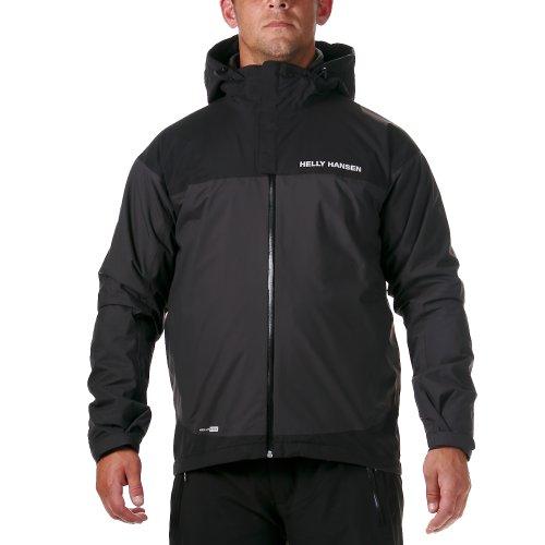 Helly Hansen para hombre Verglas Hybrid Softshell chaqueta, hombre, Black/Ebony, medium