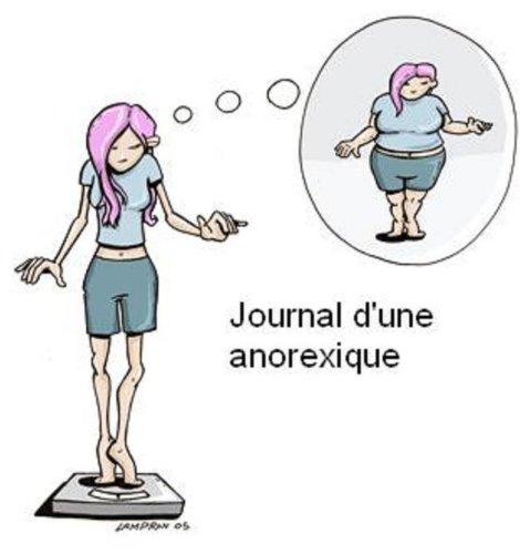 Téléchargez des livres gratuits rapidshare Journal d'une anorexique en français PDF FB2