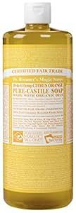 Dr. Bronner's Magic Soaps 18-In-1 Hemp Citrus Orange Pure Castille Soap, 32-O... (japan import)
