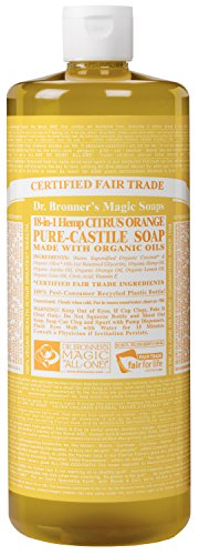 Dr Bronner's 946 ml Organic Citrus Castile Liquid Soap