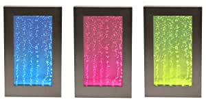 Fontane a parete d'acqua con le bollicine e luci LED - 1M