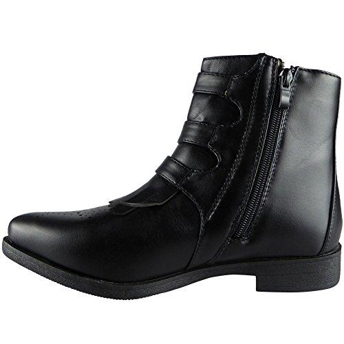 Da Donna Elastico Chelsea Chunky Tacco Caviglia Stivali Dimensione 36-41 STYLE NO: 2