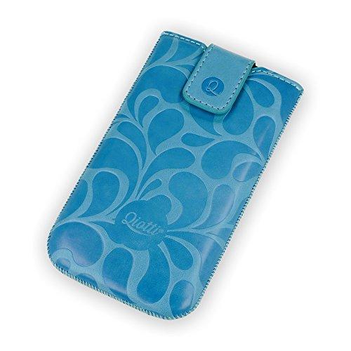 QIOTTI QX-P-0170-91-L Q.Pouch Fun Flower Tasche (Größe: L) blau