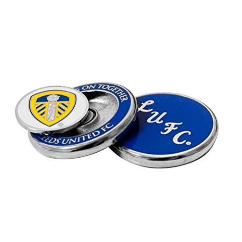 Leeds United Duo Golf Ball Marker - Silver