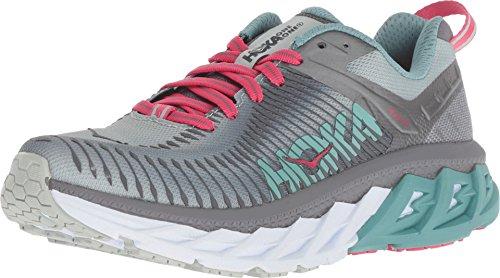 Hoka 1019276-SGMT: Womens Arahi 2 Steel Gray Metal Running Sneakers