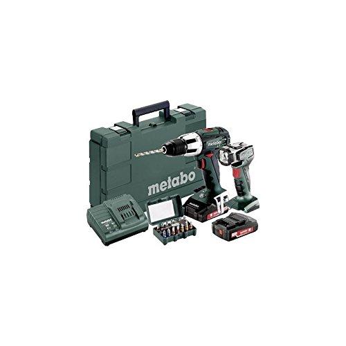 Preisvergleich Produktbild Metabo SB 18 LT Akku-Schlagbohrschrauber 18V 2Ah Li-Ion inkl. 2. Akku, inkl. Koffer, inkl. Akku-Lamp