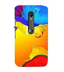 PrintVisa Modern Art Pattern 3D Hard Polycarbonate Designer Back Case Cover for Motorola Moto G3