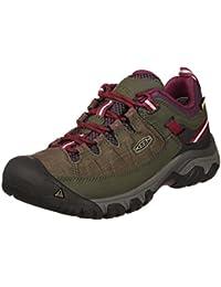Keen Zapatos con Cordones de Piel Hombre, Color Marrón, Talla 47.5 EU