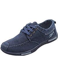 6c562be9350ff Zapatos Hombre Black Friday Casuales Invierno Zapatos de Lona de Mezclilla  de Moda Calzado Deportivo Casual