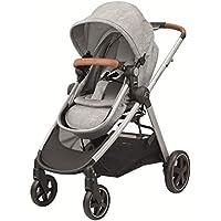 Bébé Confort ZELIA 'Nomad Grey' - Cochecito de nacimiento hasta los 3,5 años, color gris - Cochecito desde el nacimiento, Urbano, color Gris