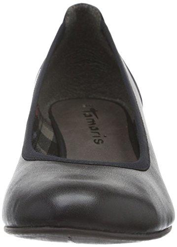 Tamaris 22304, Escarpins Femme Noir (Black Matt 020)