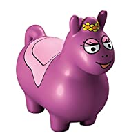 Barbo Toys 4402 Barba Toys Barbapapa Jumping Horse, Green, Multi-Color