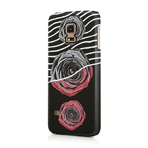 red-black-roses-with-wavy-lines-durable-plastic-phone-protective-case-cover-for-samsung-galaxy-s5-mi