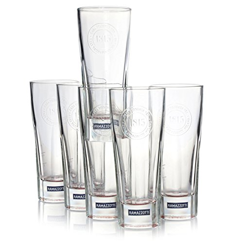 Ramazzotti Longdrinkglas 1815-6 Stück