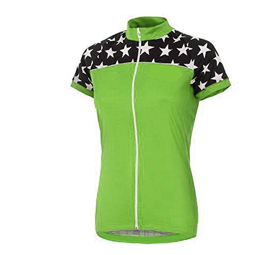 Uglyfrog SJW04 2018-2019 kommt Sommer Damen schließen Hülsen Zyklus Jersey Kurzarm Fahrradtrikot Fahrrad Hemd Fahrrad Top Outdoor Sports Radfahren Frauen Trikot (Giant Frauen Rennrad)