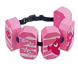 Beco 96071 4 - Schwimmgürtel Sealife, für 2 - 6 Jahre, 15 - 30 kg, pink