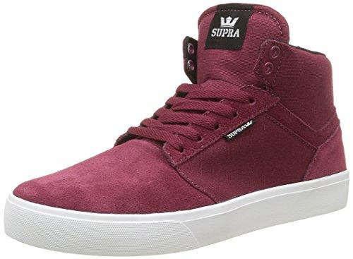 Supra Herren Yorekhi Sneaker Rouge (Burgundy White)