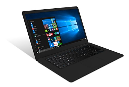 ODYS Trendbook NEXT 14 Pro 35,8 cm (14 Zoll) FULL HD IPS Display (1920x1080) Notebook (Intel Atom x5-Z8350, 4 GB RAM, 32GB HDD, HDMI, USB 3.0, Win 10 Home) schwarz