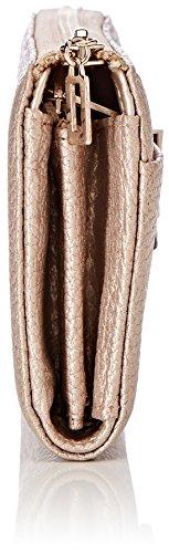 Guess Bobbi, Portafoglio Donna Multicolore (Pale Bronzefuchsia)