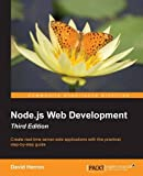 Create real-time server-side applications with this practical, step-by-step guide  About This Book  * Learn about server-side JavaScript with Node.js and Node modules through the most up-to-date book on Node.js web development * Understand website de...