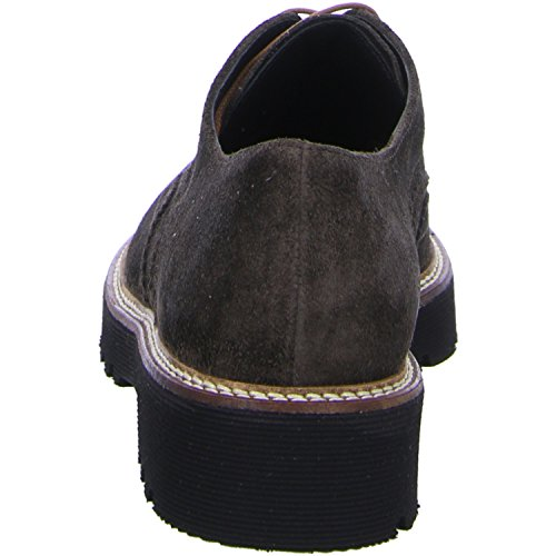 Gabor 52-668-45, Scarpe stringate donna 52 Moka