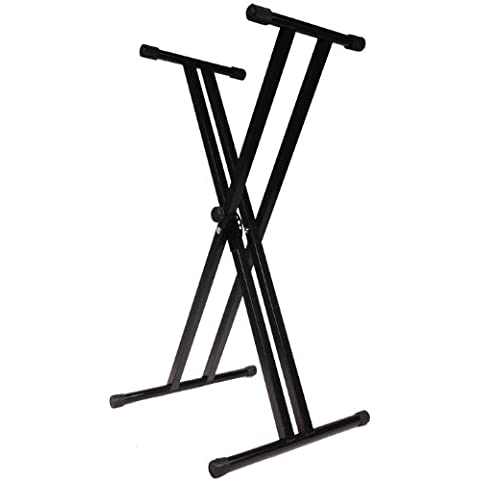 Doppia strebiges Keyboard Piano treppiede supporto stabile e Lightweight