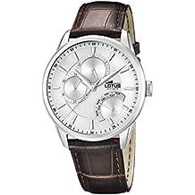 Lotus 15974/1 - Reloj de pulsera hombre, Cuero, color Marrón