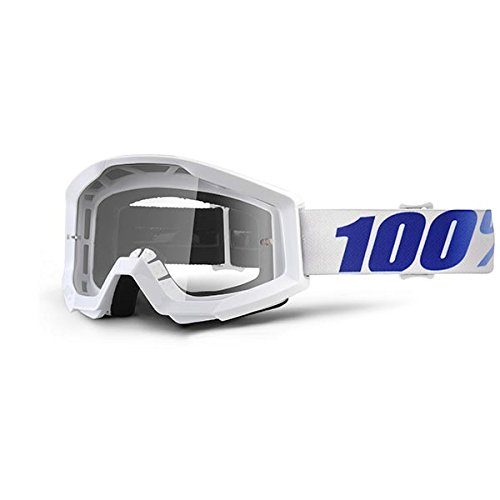 Desconocido 100% Strata - Gafas Enduro - Blanco 2018