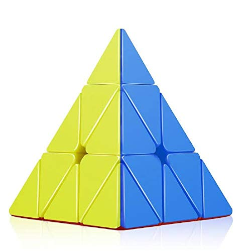 Colomo Pyramid Speed Cube Triangle Magic Cuble Puzzle Toy