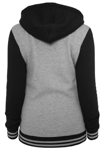 Urban Classics Damen Kapuzenpullover Grey/Black