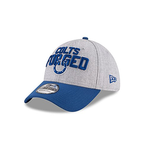 New Era NFL INDIANAPOLIS COLTS Authentic 39THIRTY Onstage Draft 2018 Stretch Fit Cap