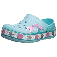 Crocs Unisex Kids Fl Mermaid Band Clog K 205646-4o9 Beach & Pool Shoes