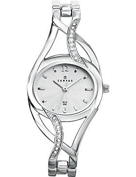 Certus Damen-Armbanduhr Analog silber 633173