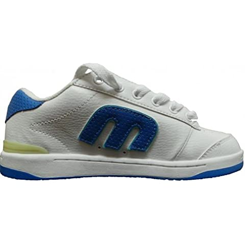 Etnies Skate Shoes Novice White/Clear Blue, shoe size:37.5