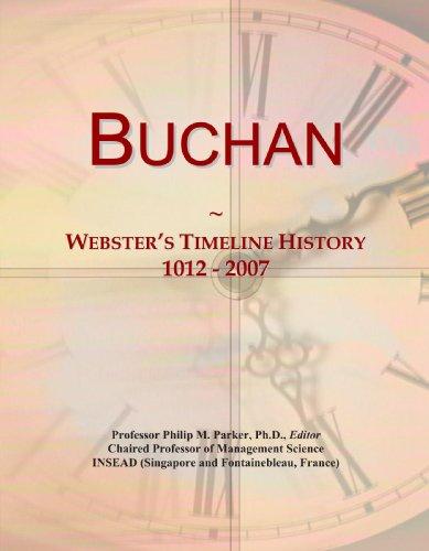 Buchan: Webster's Timeline History, 1012-2007