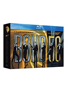 007- James Bond Cofanetto Monsterbox 23 dischi Blu-ray