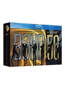 007- James Bond Cofanetto Monsterbox 23 dischi Blu-ray