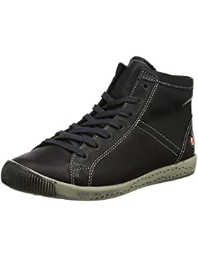 Softinos Damen Isleen Smooth Hohe Sneaker