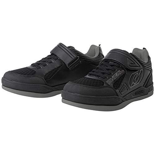 O'NEAL Sender Flat Dirt MTB Fahrrad Schuhe schwarz/grau 2020 Oneal: Größe: 37