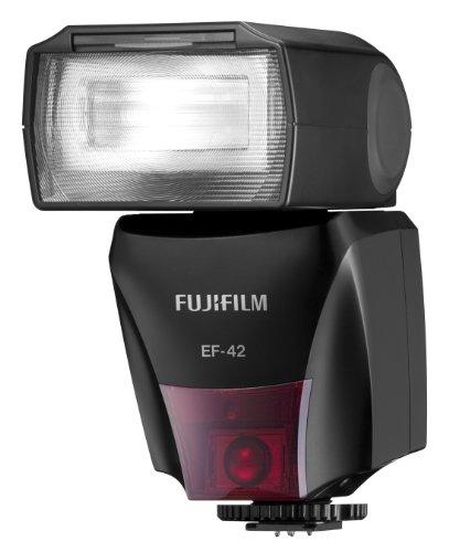 Fujifilm EF-42 TTL - Unidad de flash con clip, color negro