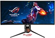 "Asus ROG Swift PG349Q 34"" Curved G-Sync Gaming Monitor 120Hz 3440 X 1440 IPS with Eye Care Aura Sync DP HDMI"