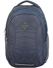 F Gear Talent Laptop Backpack 32 Liters (Grey,Black)